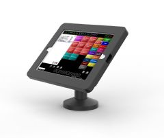 armourdog® secure tablet POS kiosk with swivel mount for iPad 10.2 in black